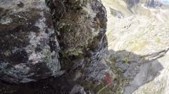 Nasty terrain for climbing shoes