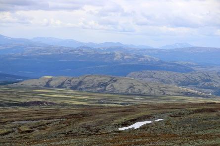 Ranglarhøe in the foreground