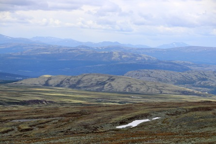 Ranglarhøe in the foreground