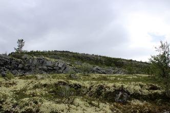 Up the northeast ridge