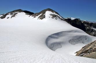 Yes, it is a glacier