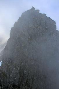 Odd Arnt on top - in the fog