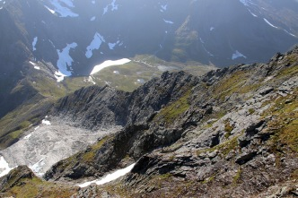 The ridge from Høgreset