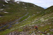 Ascending Kvannfjellet