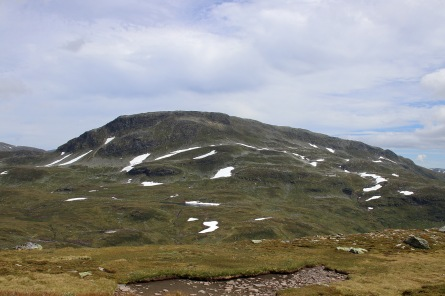 Blåfjellet, 1548m. 2nd highest top in Voss