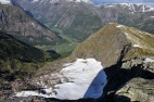 Descent towards Skrednipa