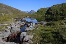 At lake Hundelaupsvatnet
