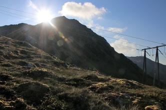 Towards the high ridge