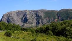 Nonsrabben ridge - 2nd from left
