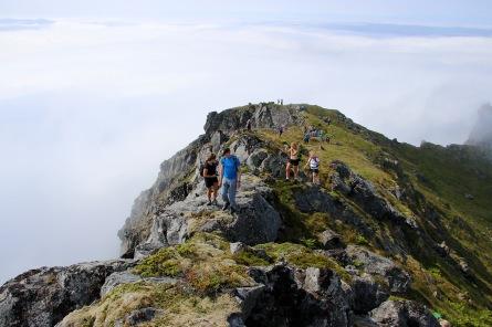 Nice ridge walk