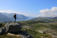 View towards Tosenfjorden