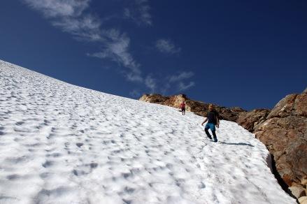 Descending Breidvasstinden