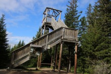 Up the lookout tower