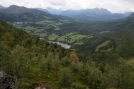 Down Litledalen valley