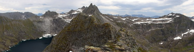 Another panorama before heading down