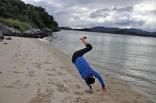 Handstand-attempt
