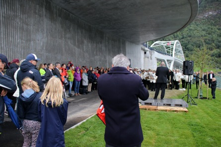 Opening of the new bridge