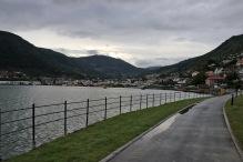 """The beautiful """"Fjordstien"""" walkway"""
