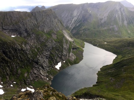 Lake Vasskoppevatnet