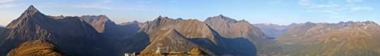 Sandhornet summit view (1/3) (Canon)