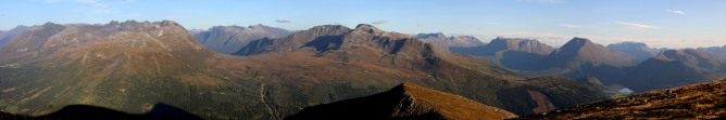 Sandhornet summit view (2/3) (Canon)