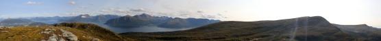 Summit view from Svanshornet