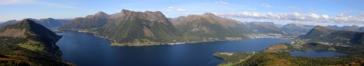 Ørstafjorden view