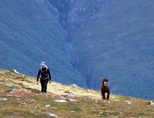Karma welcomes Anne to the ridge