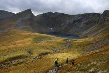 Towards Klovvatnet