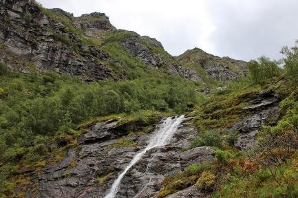 Up Flåskjerdalen valley