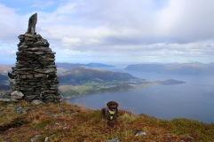 On top of Bergehornet