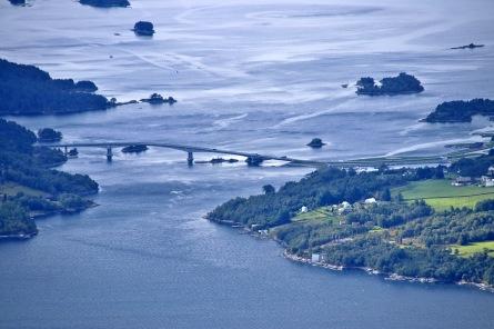 The Eiksund bridge