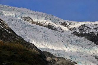 The glacier, detail