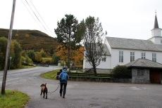 The Åram trailhead