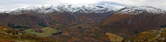 Dvergsdalsdalen valley