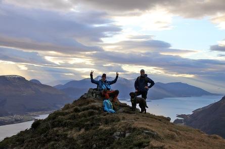 On top of Oppstadhornet (1)