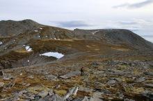 Towards Storfjellet