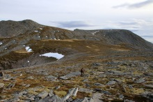 Towards Storfjellet