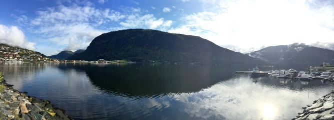 In Sogndal, soon ready for departure