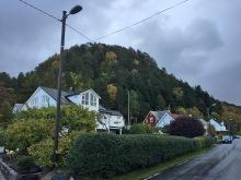 View up Osberget