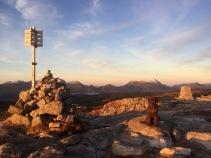 On top of Høgkubben