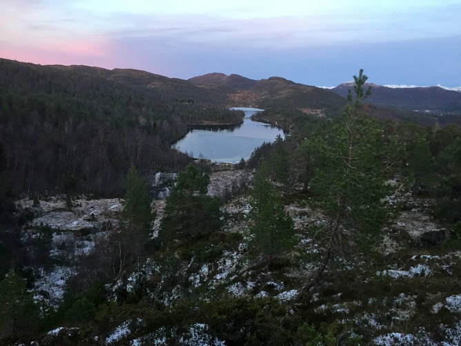 Lake Røssevollsvatnet