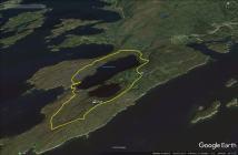 The route around Aurnesvatnet