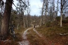 On the ridge to Pikhaug