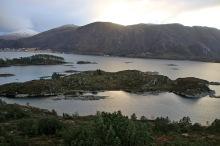 View towards Sandvikhornet