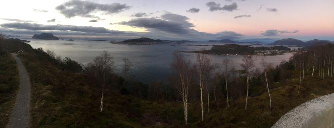 Ellingsøya seen from Rundskue