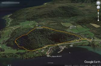 The route across Kleppeåsen
