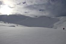 Towards Helleberget