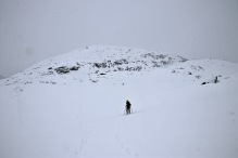 Descending Helleberget