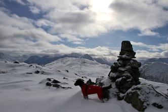 At the first cairn